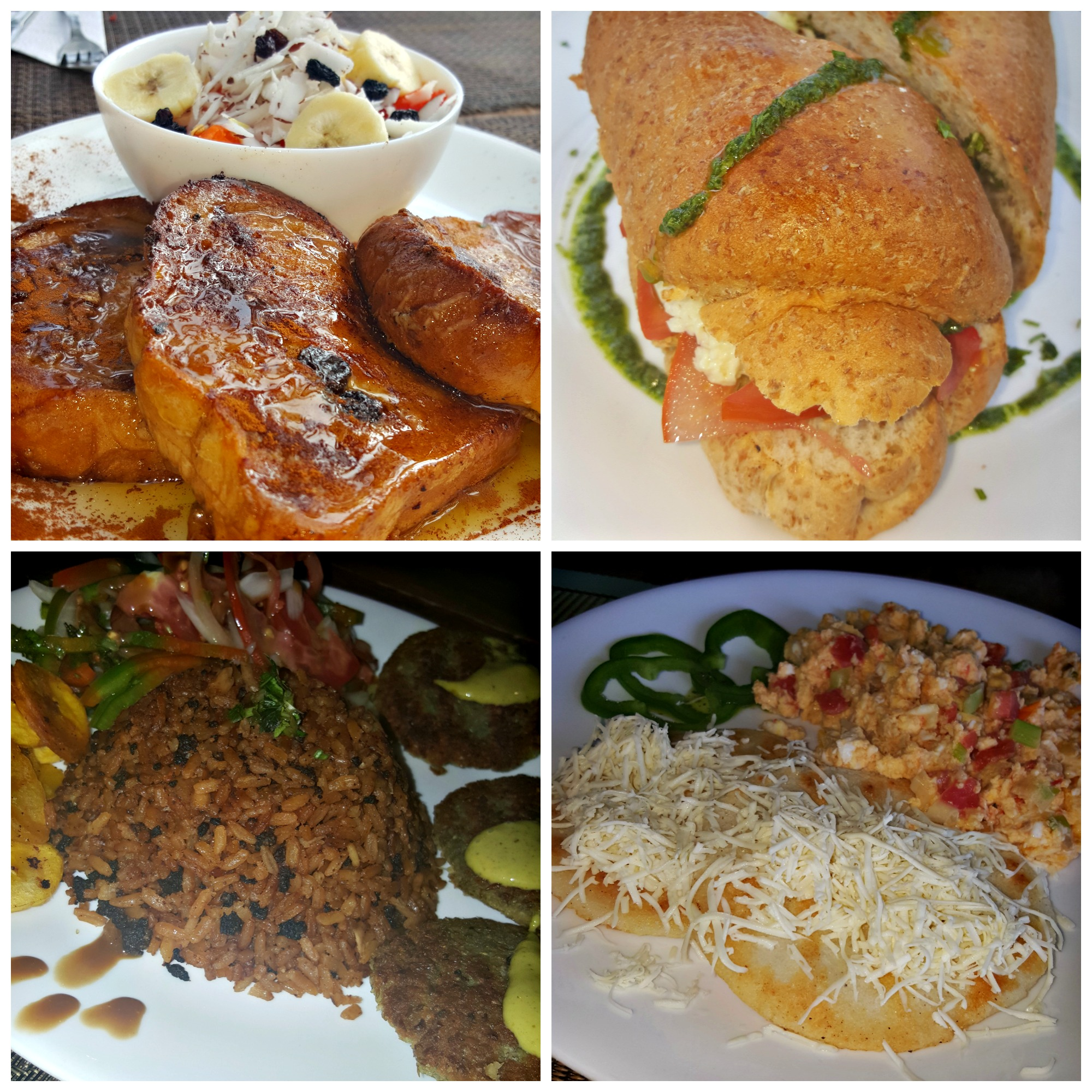 La Sirena Hotel Food Collage