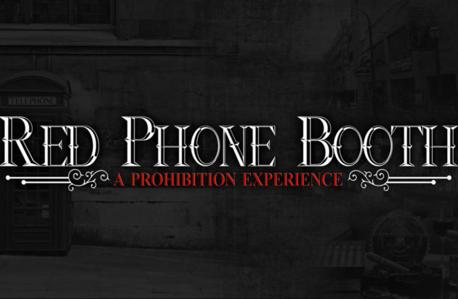 Red Phone Booth Prohibition Logo