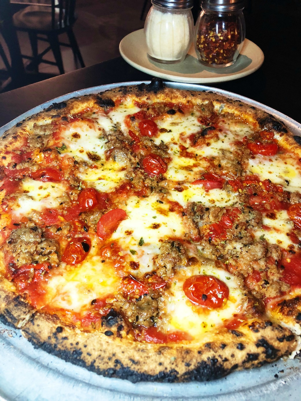 Allora Fennel Sausage Pizza